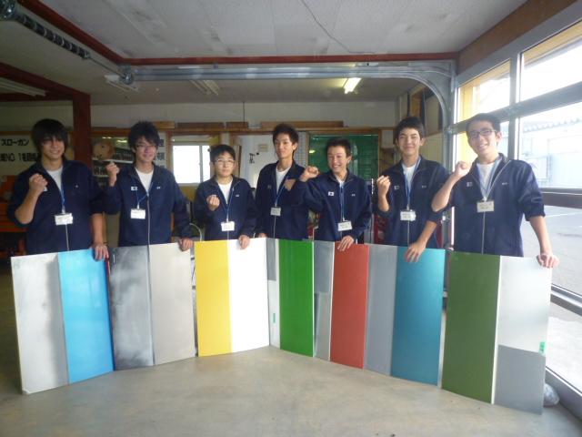 毎年恒例、地域の中学校から職場体験実習の依頼を受け実施しました。