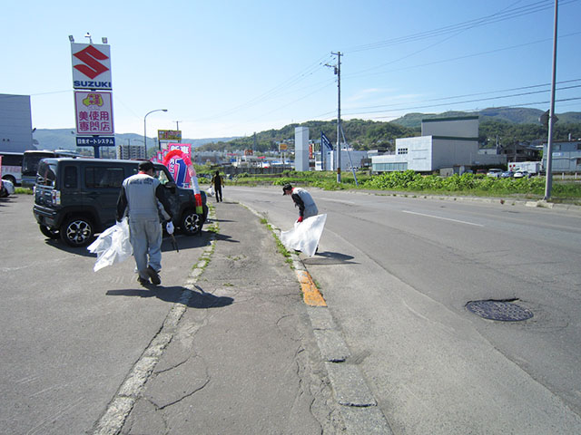 地域清掃活動(2020年)