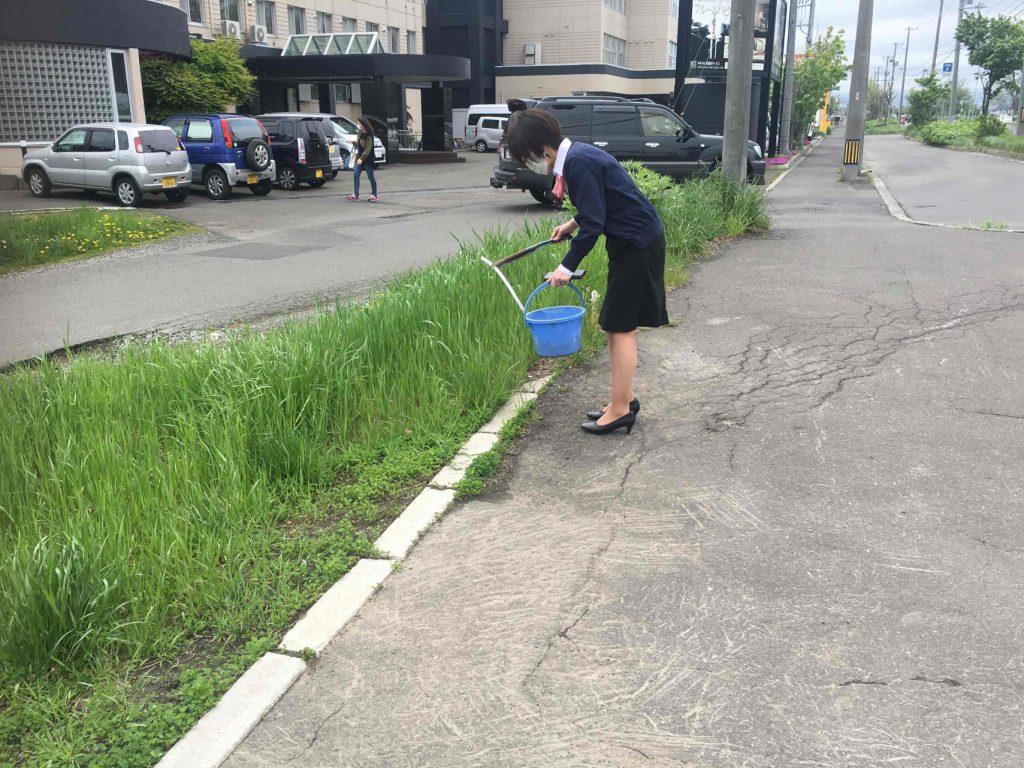 地域清掃活動(2021年)