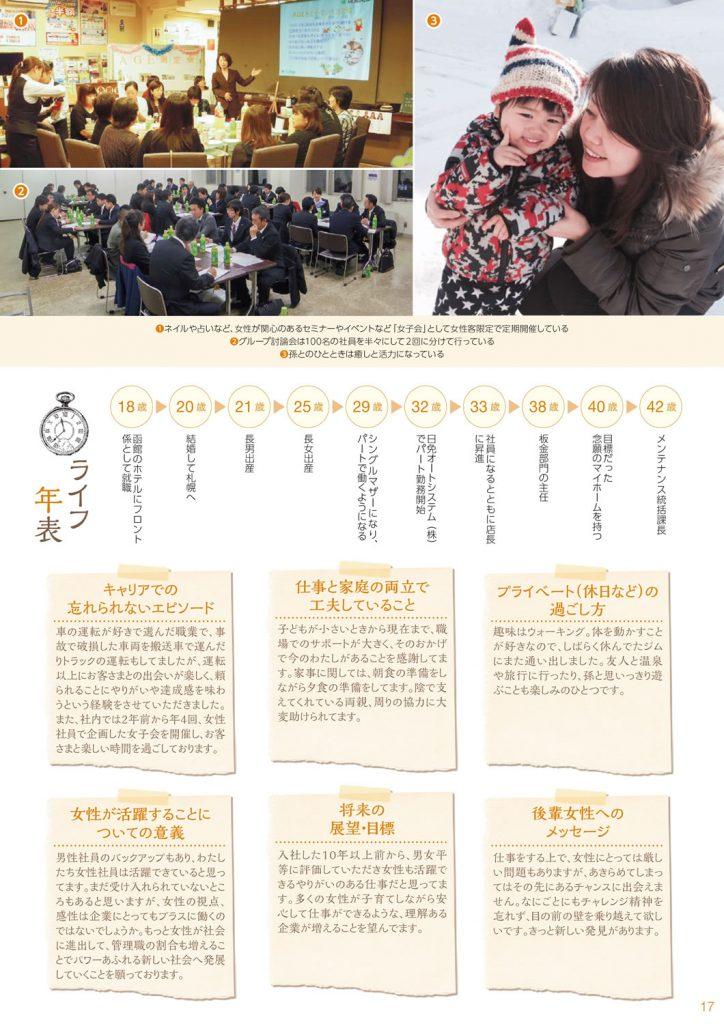 札幌の女性ロールモデル集