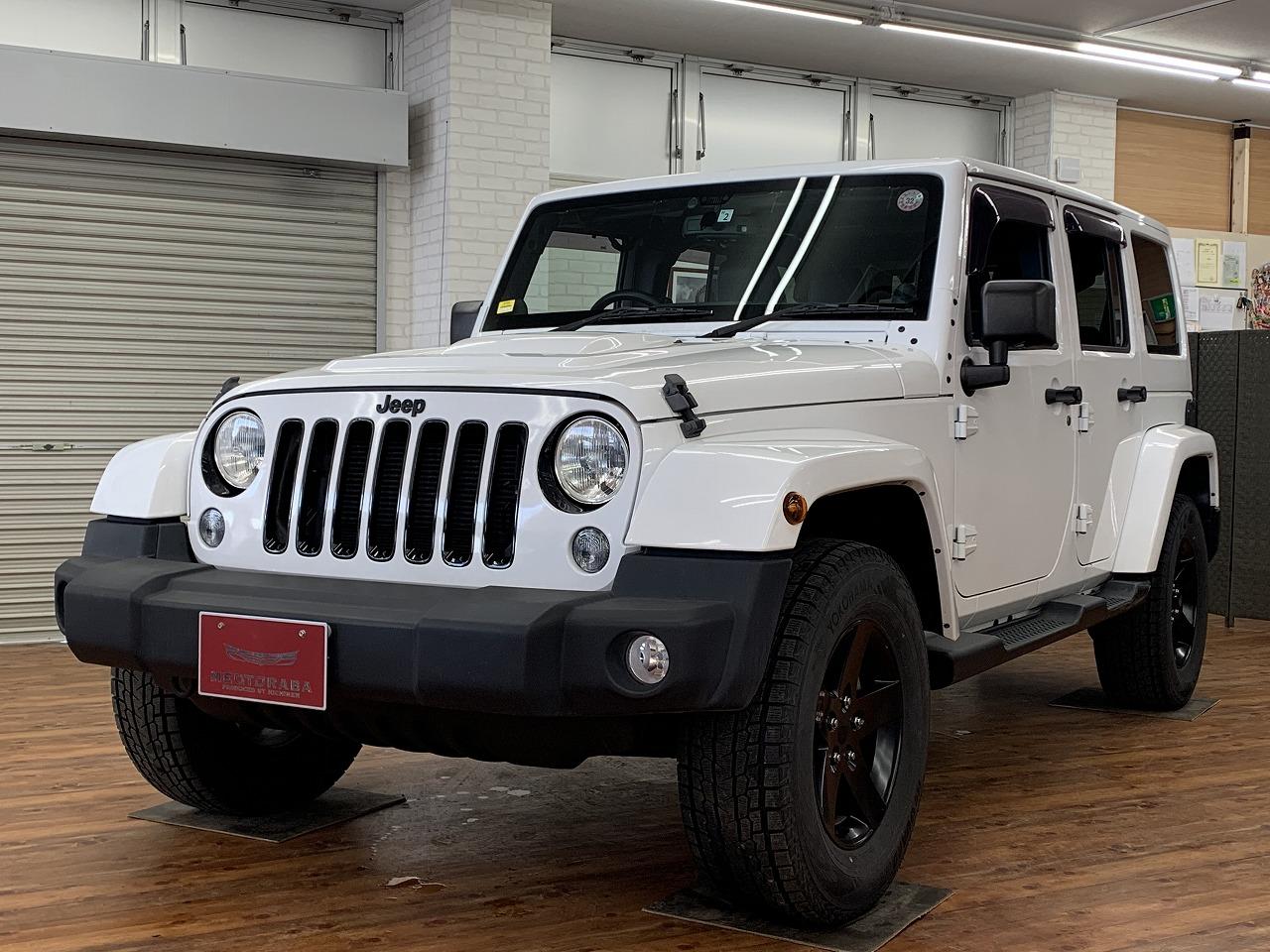 JEEP ラングラーアンリミテッド ポーラーエディション 4WD