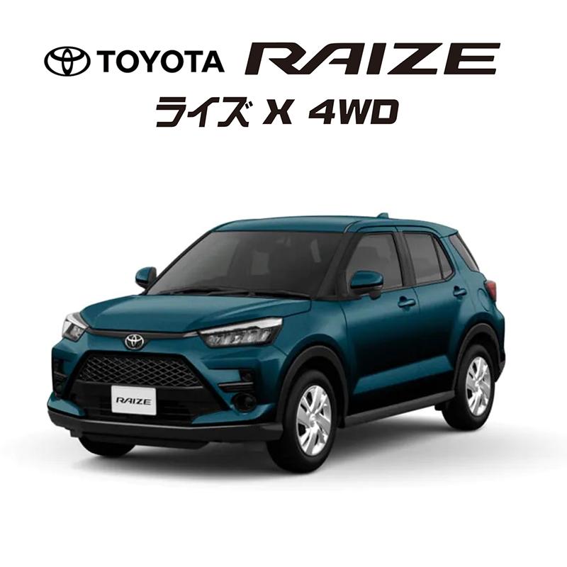 ライズ X 4WD