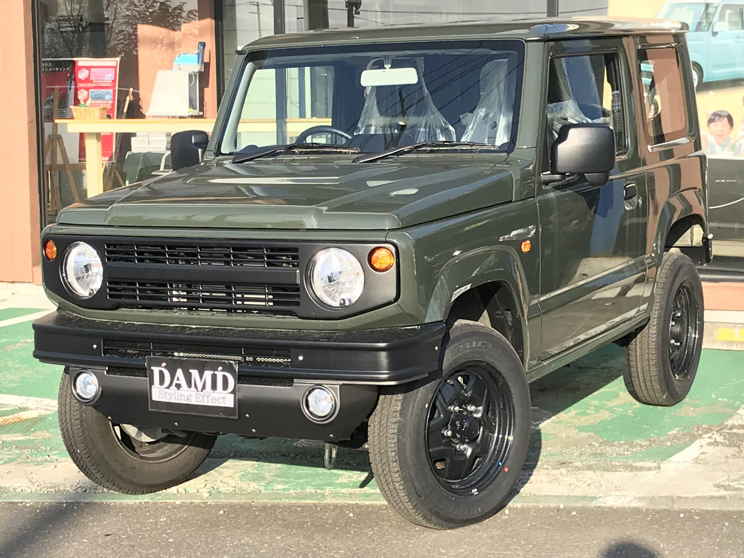 ジムニー 660 XG 5MT 4WD ダムドエアロ取付車輌