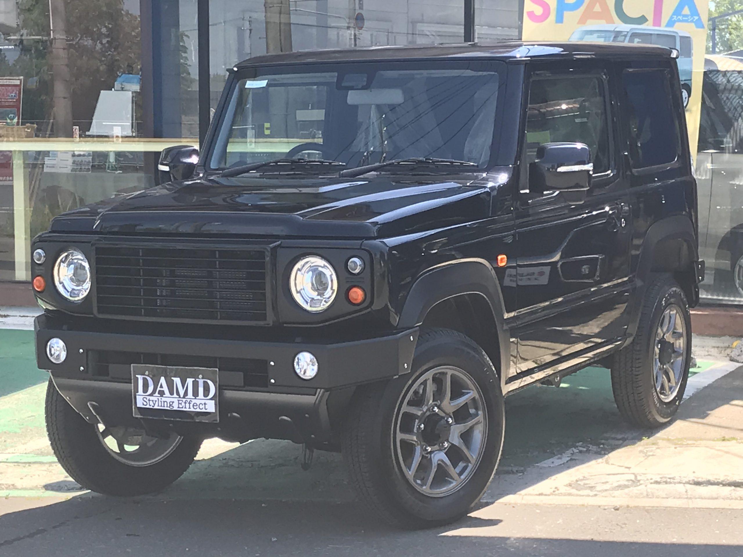 ジムニー 660 XC ダムド取付車輌 4WD