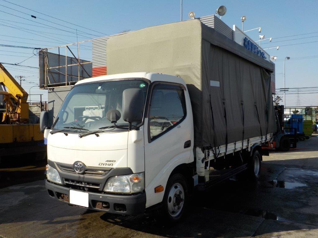 トヨタ ダイナ 2トン平ロング 幌付 4WD