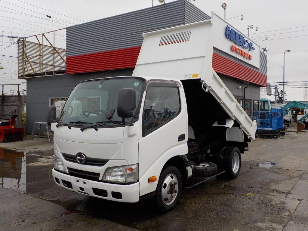 平成25年 日野 デュトロ 2トンダンプ 4WD   低床・土砂禁