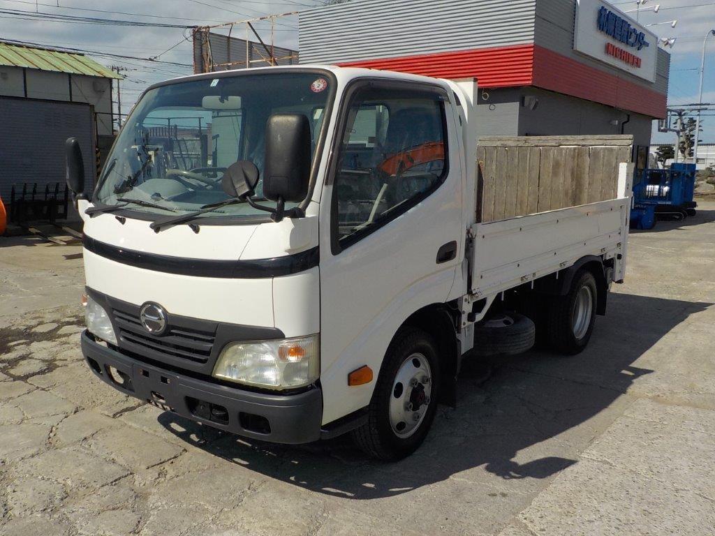 平成22年 日野 デュトロ 2トン平 ショート   4WD 垂直ゲート付